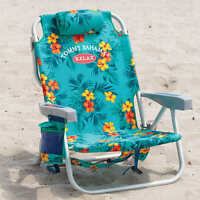 NEW Tommy Bahama Backpack Cooler Folding Beach Chair Green