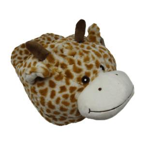 Giant Velvet Giraffe Slipper Soft Animal Foot Feet Warmer Novelty Gift Present