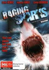 Raging Sharks  - DVD - NEW Region 4