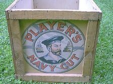 1959 PLAYERS CLUB SHIPPING CONTAINER FROM UK.......GREAT GRAPHICS....LOOK