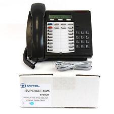 Mitel Superset 4025 Backlit Digital Dark Grey Charcoal Phone - Lot