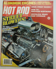 Hot Rod Magazine Street Blowers & Legal Street Racing August 1983 NO ML 050815R