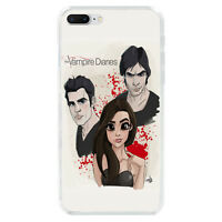The Vampire Diaries Soft TPU Case Cover For iPhone X 6S 7 8 Plus 5S Galaxy S7