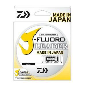 J-Fluoro Clear Fluorocarbon Leader 50 yd - DAIWA