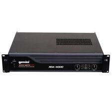 Gemini Xga-4000 4000w 2 Channel Stereo DJ PA Amplifier