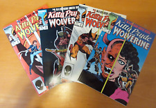 Kitty Pryde And Wolverine #2, 3, 4, 5 all NM- 9.2 (1984-85)