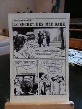 57 Planches de montage - Le Secret Des Mac Dark - Deuxième Partie - Arédit