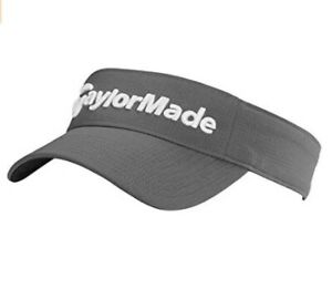 TaylorMade Mens Radar Visor Golf Cap - New 2021 - Charcoal
