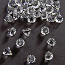 TRANSPARENT 12mm DIAMOND SHAPED TABLE CONFETTI DECORATION