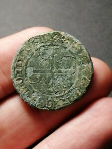 Old French? Jetton Counter Token Coin w/ Green Patina - France