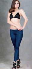 Shamrocks leaf  printed S-XL elastic Slim Woman fitness leggings low waist 1795
