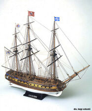 """Gorgeous, Authentic Wooden Model Ship Kit by Mamoli: the """"Le Gloire"""""""