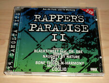 CD Album - Rapper' Paradise II 2 CDs : Naughty By Nature + Dr. Dre + Ice-T + ...