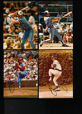 """HOF BRUCE SUTTER Autographed 3 1/2"""" X 5"""" CUBS Photo w/COA - CY YOUNG AWARD 1979"""