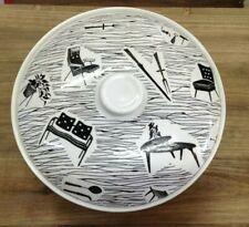 Lovely Very Rare Ridgway Potteries Homemaker Black and White Tureen SU523