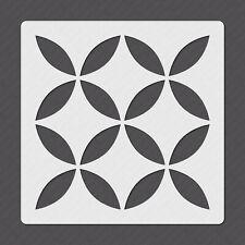 Mylar Plastic Tile Stencil for Floors Walls Tiles Decorations - MY00028