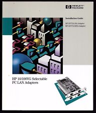 Install Guide HP 10/100VG Selectable PC LAN Adapters