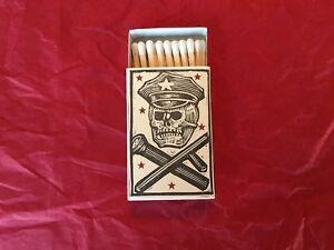 Ravi Zupa Hand Silkscreened Matchbox  #28  Signed & Numbered /5
