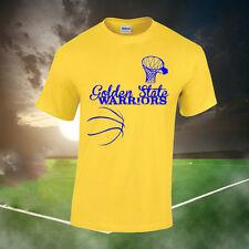 GOLDEN State Warriors Fan T-shirt (Bambini, signore, da uomo fino a 2XL) basket, NBA