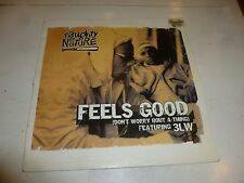 "NAUGHTY BY NATURE - Feels Good - 2002 UK 4-track 12"" vinyl single"