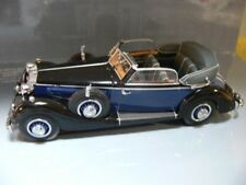 1/43 MINICHAMPS autresdomaines 853 A CABRIOLET 1938 Black/Blue