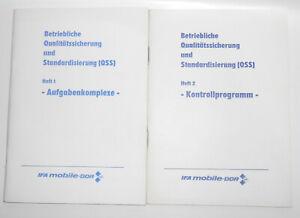 Betriebliche Qualitätssicherung & Standardisierung Ifa Mobile DDR 1982 Hefte (b1
