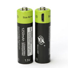 ZNTER ZNT7-1 1PC MICRO USB Charging AAA Rechargeable Lithium Battery 1.5V 400mAh