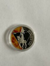 Togo 500 francs Greatest She - Warriors Jeanne D'Arc silver proof coin 2011