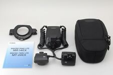 【AB Exc+】 Canon Macro Twin Lite MT-24EX External Flash w/ Case From JAPAN #2743