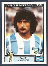PANINI WORLD CUP STORY #103--MUNICH 74-ARGENTINA 78-ARGENTINA-DANIEL VALENCIA