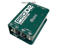 Radial ProD2 Stereo Direct DI Box Guitar Bass Keyboard PRO D2