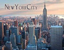 New York City SKYLINE with Empire State Building - Flexible Fridge Magnet