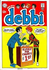 Date With Debbi 2 APPROVAL COVER 1968 Kissing Booth DC