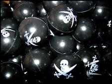 Bulk Lot 10 Mini PIRATE Super Balls New Boys Party Favors Kids Novelty Toys New
