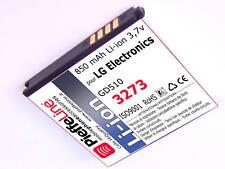 Per LG Electronics GD510 GD 510 Batteria Li-ion 850mAh