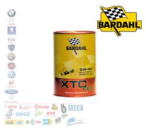 OLIO MOTORE AUTO BARDAHL XTC C60 5W40 BASSA TEMPERATURA SENZA DPF-FAP 334040