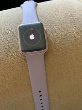 Apple Watch Series 1 38mm Aluminum Case Pink Sand Sport Band - (MNNH2LL/A)