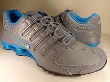 Nike Shox NZ Cool Grey Blue Lagoon Silver SZ 11.5 (378341-004)