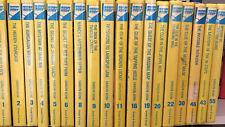 Nancy Drew Book Lot Of 18 Glossy HC Flashlight 1-6 8-11 16 19 20 22 30 43 46 55