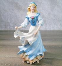 VTG LENOX LEGENDARY PRINCESS CINDERELLA Dreaming Of The Ball Work Dress Figurine