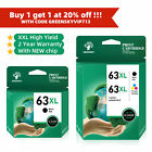 63 XL 63XL Ink Cartridge pk fits HP OfficeJet 3830 4650 5200 5230 5255 5258