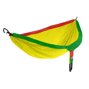 ENO Doublenest Rasta 2 Person Fathers Day Lightweight Nylon Camp Hike Hammock