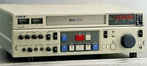 S-Vhs Video Deck For Sony Svo-9600 Business