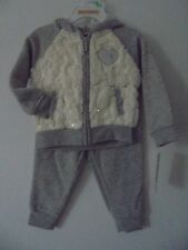 JUICY COUTURE GIRLS  JOG  SET HEATHER GRAY   Sz 18m  NWT