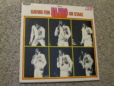 """""""Sealed"""" """"Unused"""" Elvis LP,     """"Having Fun With Elvis on Stage"""",     """"Sealed"""""""