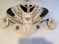 Lacrosse Warrior Shoulder And Chest Protector Size Youth Xs White