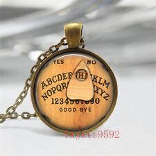 Vintage New arrival Cabochon Tibetan Bronze Glass Chain Pendant Necklace jewelry