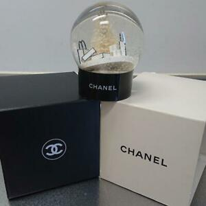CHANEL Snow Globe Dome White Christmas Tree VIP Customer Limited Benefit