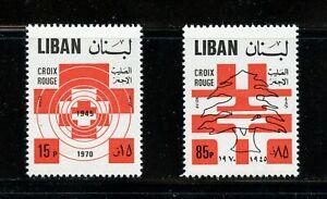 A402  Lebanon  1971  Red Cross   2v.       MNH
