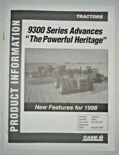 """Case IH 9300 Steiger Tractor """"1998 Features"""" Product Information Brochure Manual"""